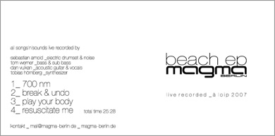 magma berlin – beach ep