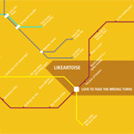 Likeartoise – Love To Take The Wrong Turns